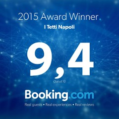 2015 Award Winner Booking.com BB I Tetti Napoli